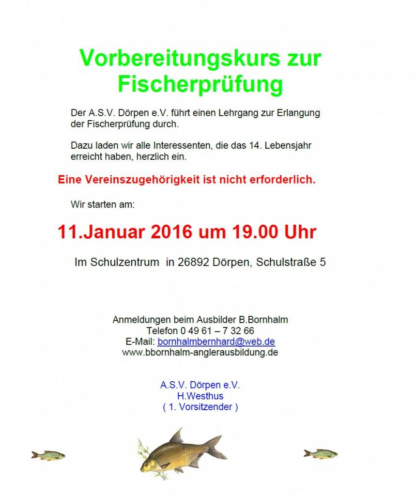 Fischerprüfung 2016